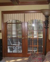 Cornice Boards on Doors