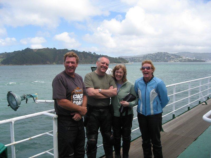 Carol and Gordy, Lynda and Kevin