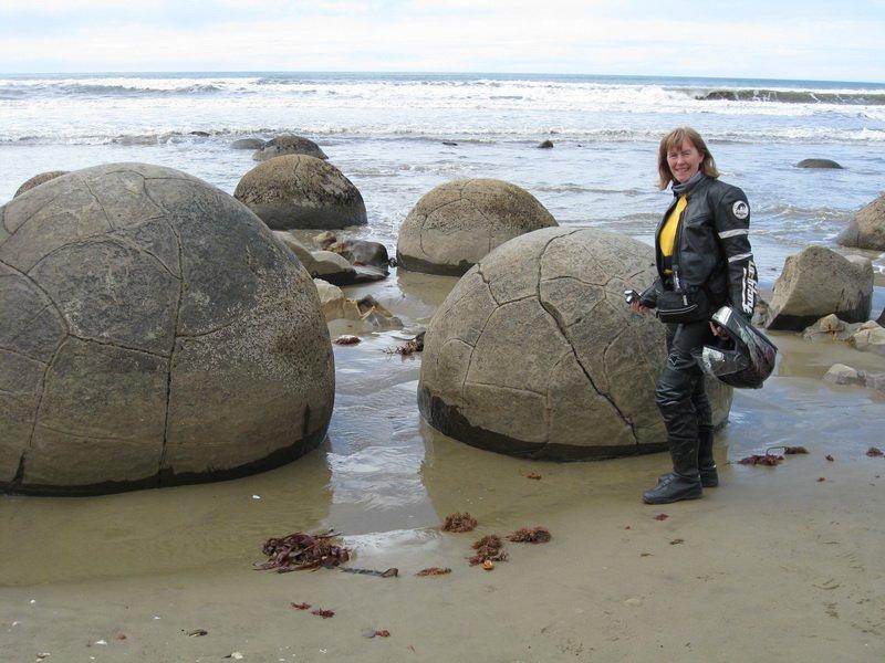 Lynda on the Beach