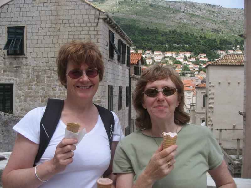 Chris and Lyn ice creams
