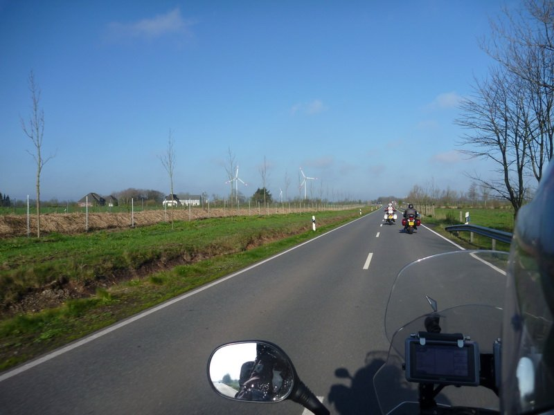 It's like riding in Norfolk it's that flat!