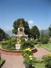 Kopan Monastery gardens