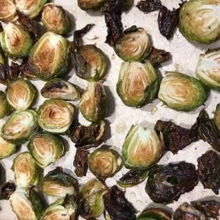 The Well-Intended's Roasted Brussels Sprouts
