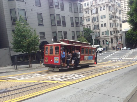 The Well-Intended on San Francisco's Powell & Hyde Cable Car Line