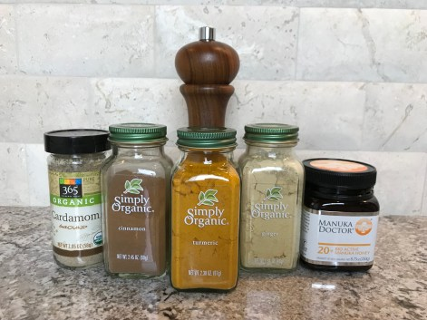 The Well-Intended's Golden Milk Spices
