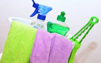 Essential Oils as Natural Cleaning Products