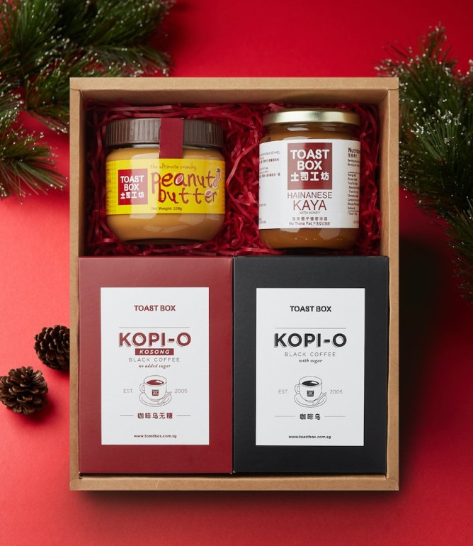 Christmas Gift Ideas : Toast Box Packages