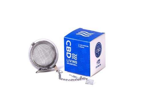 cbd-kafe,CBD Living Tea Infuser Ball,CBD Living,CBD Drinks & Water