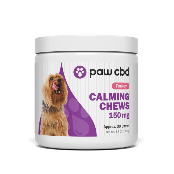 cbd-kafe,CBD CALMING SOFT CHEWS FOR DOGS 150mg,CBDMD,Broad Spectrum