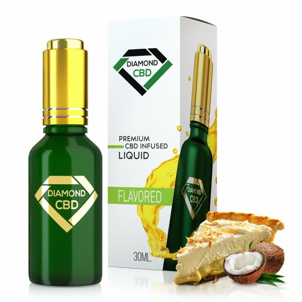 cbd-kafe,Coconut Cream Pie Flavor Diamond CBD Oil,Diamond CBD,Full Spectrum