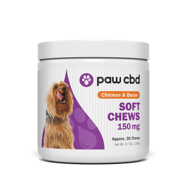 cbd-kafe,CBD SOFT CHEWS FOR DOGS 150mg,CBDMD,Broad Spectrum