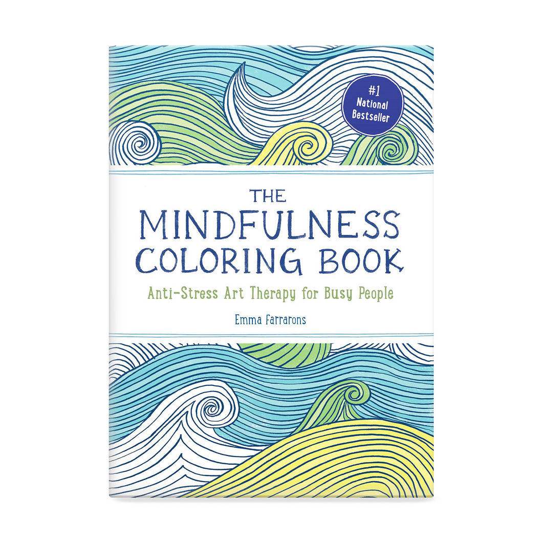 The Mindfulness Colouring Book Anti Stress Art Therapy