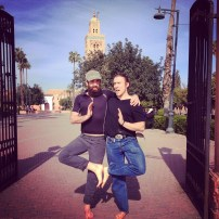 These two goofballs loved running through Marrakech barefoot, cuz they're basasses. Or really stupid. It's a fine line.