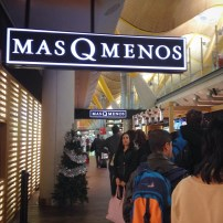 Showed up at the airport at 7am, starving and found only one place open. Mas Q Menos--better than nothing.