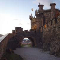 Ponferrada, castle of the Knights Templar