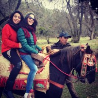 Riding in Ifran.