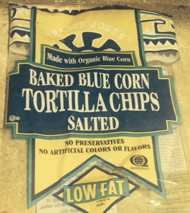 Trader Joes' Baked Corn Chips