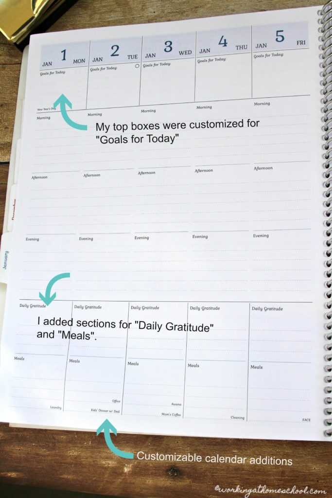 This is a completely customizable planner - basically everything I ever wanted in a planner!