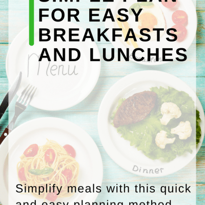 Simplify Breakfasts and Lunches with a Meal Plan Blueprint