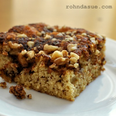 Rohnda's Low Carb Coffee Cake
