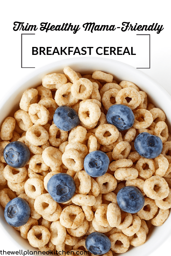 THM-friendly cereal! These Power O's are surprisingly good and they're good for you, too! #trimhealthymama #thm #healthy #thmE #trimhealthymamaE