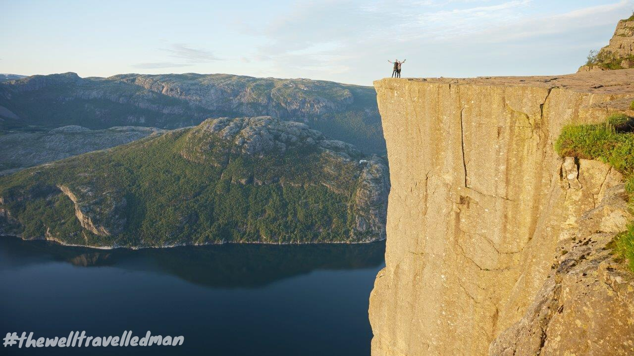 perfect - PREIKESTOLEN (PULPIT ROCK) SUNRISE HIKE Outdoorlife the well travelled man