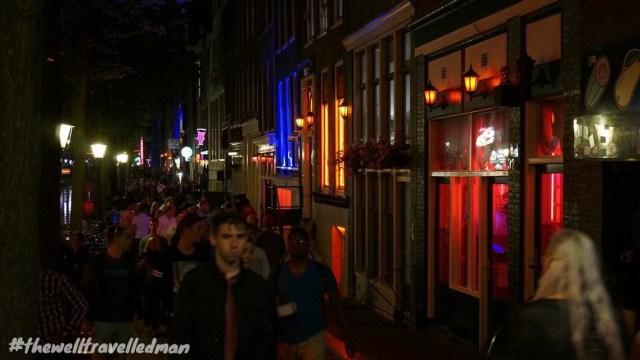 thewelltravelledman travel blog Amsterdam red light district