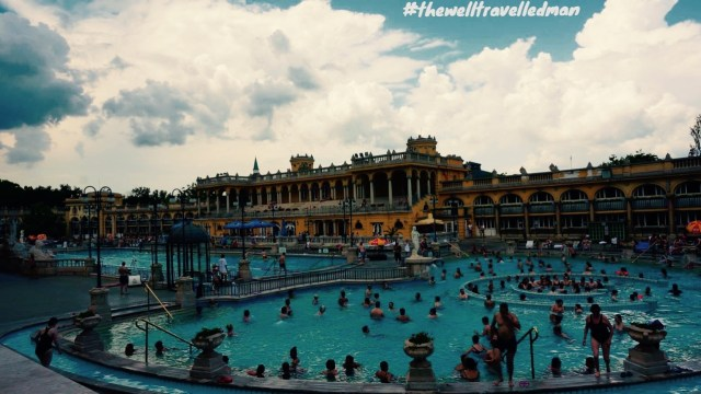 thewelltravelledman Szechenyi Baths and Pool visiting budapest