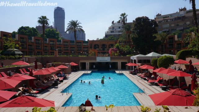 thewelltravelledman cario marriott pool grounds