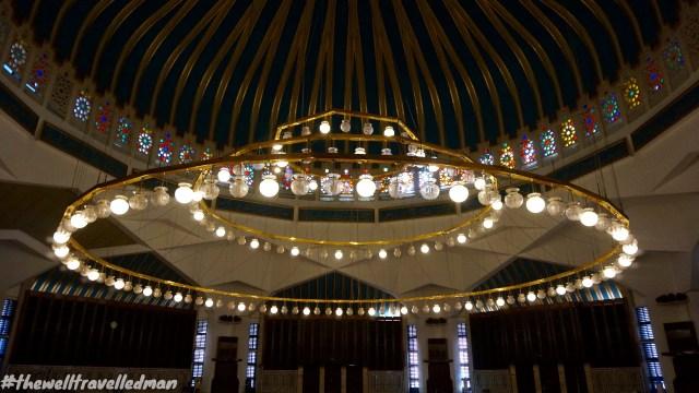 thewelltravelledman Amman Blue Mosque