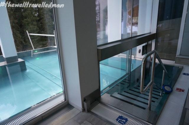 thewelltravelledman Mooser hotel St Anton Austria - spa