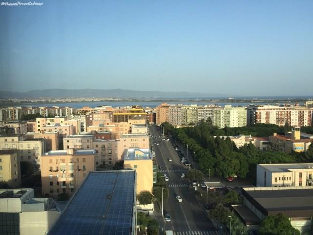 thewelltravelledman thotel cagliari hotel room view