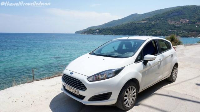 Our zippy car in Zakynthos!