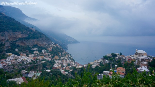 The view from Villa Cimbrone Gardens, Ravello