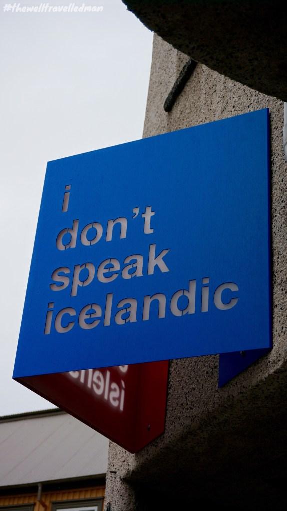 I don't speak Icelandic