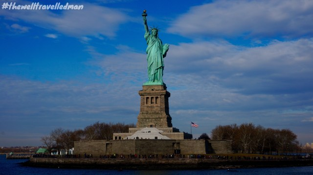 thewelltravelledman statue of liberty