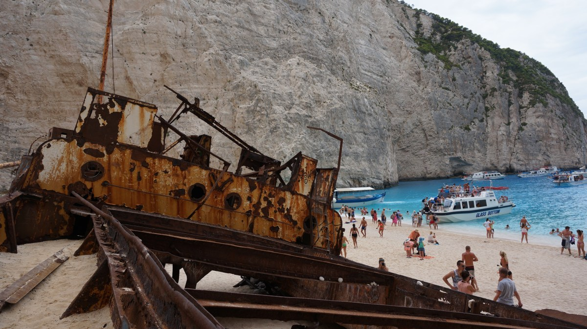 A day at Navagio Beach, Zakynthos - Greece