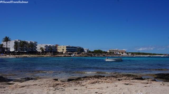 Playa Es Pujols, Formentera