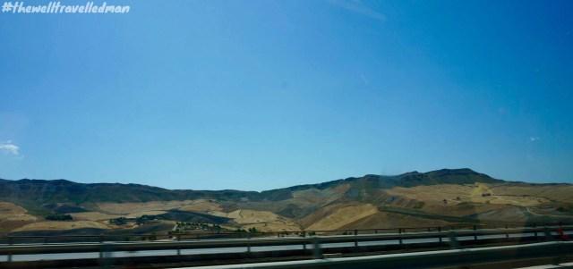 Enjoying the rugged coastline throughout Sicily