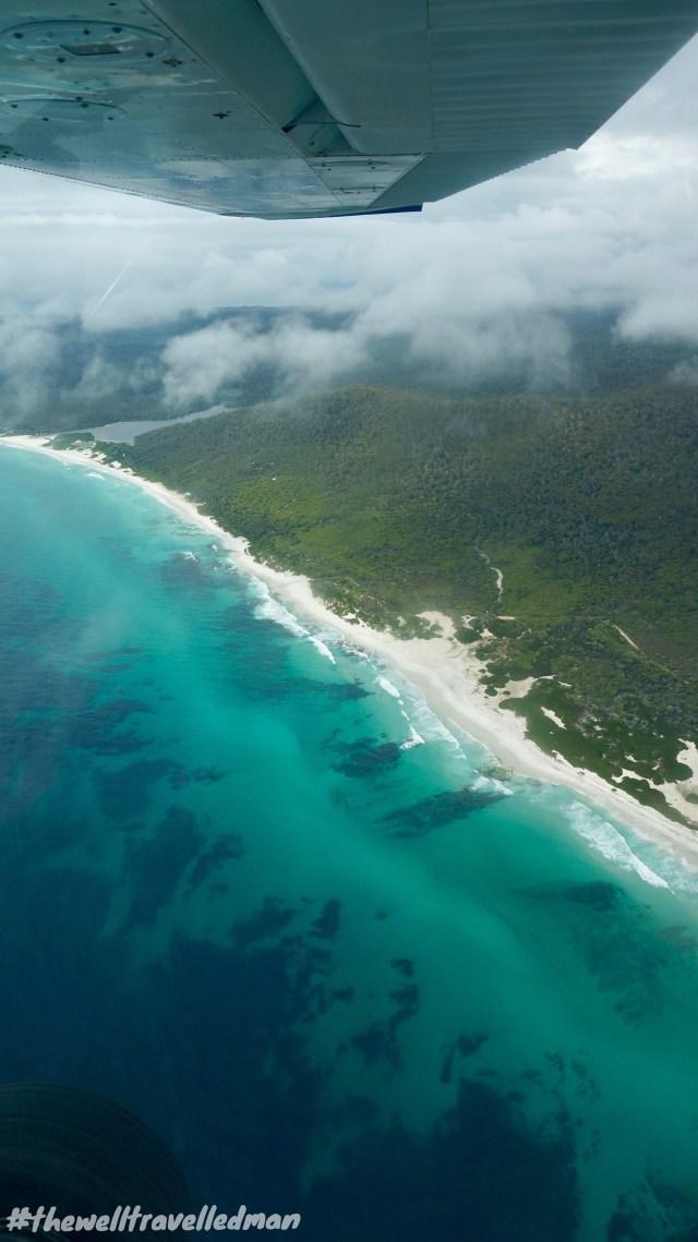 thewelltravelledman scenic flight freycinet national park