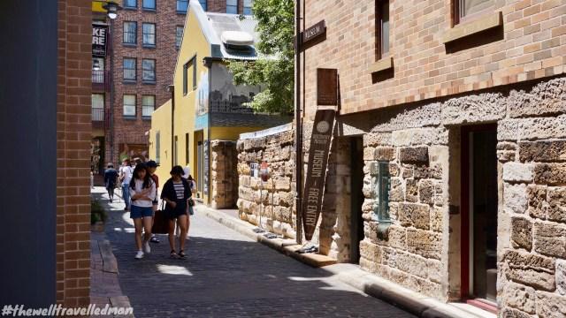 thewelltravelledman the rocks walking tour sydney australia