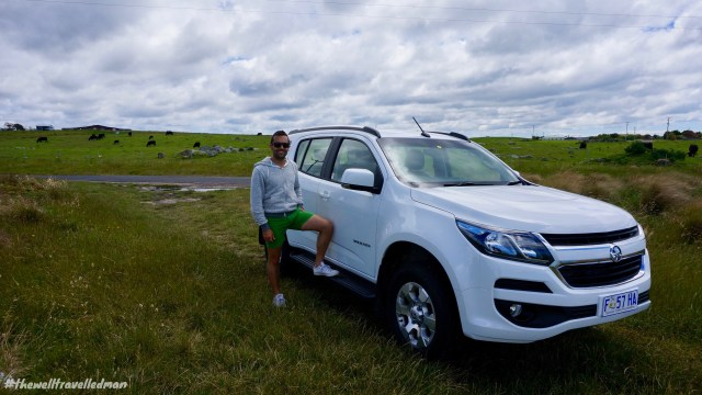 thewelltravelledman hertz hiring a car in tasmania