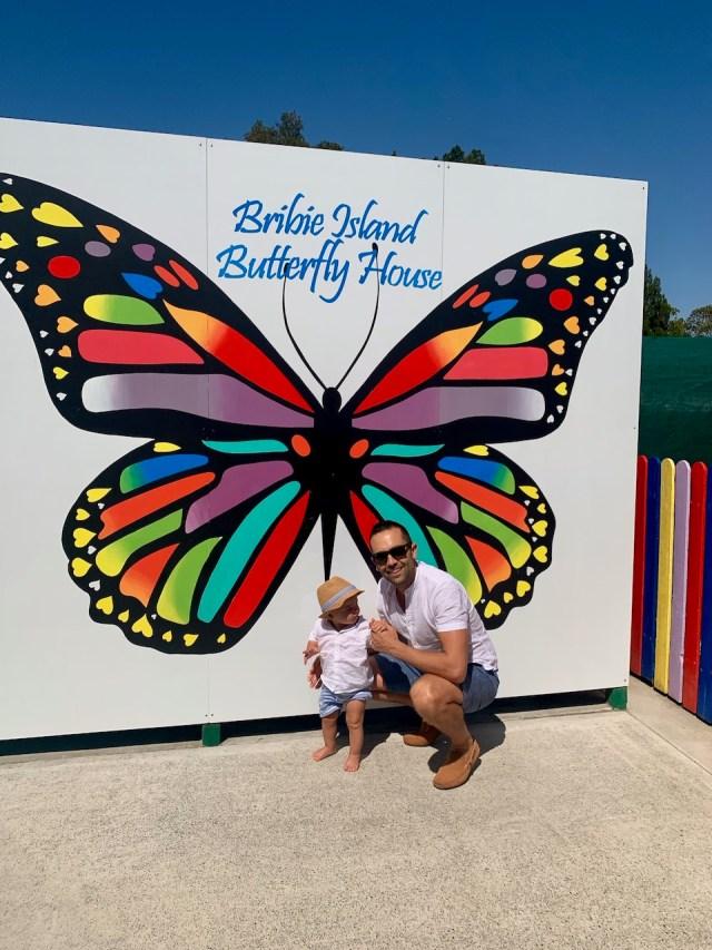 thewelltravelledfamily bribie island butterfly house