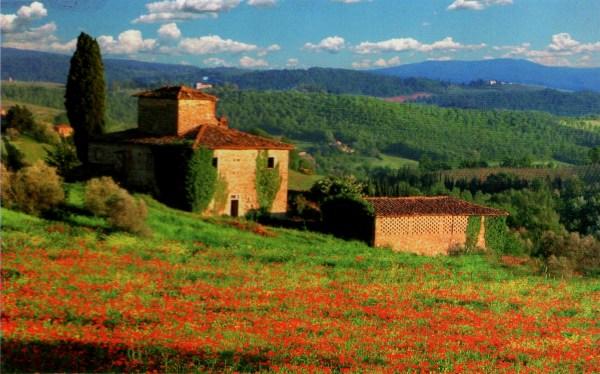 Postcard of the Week Tuscany The WellTravelled Postcard