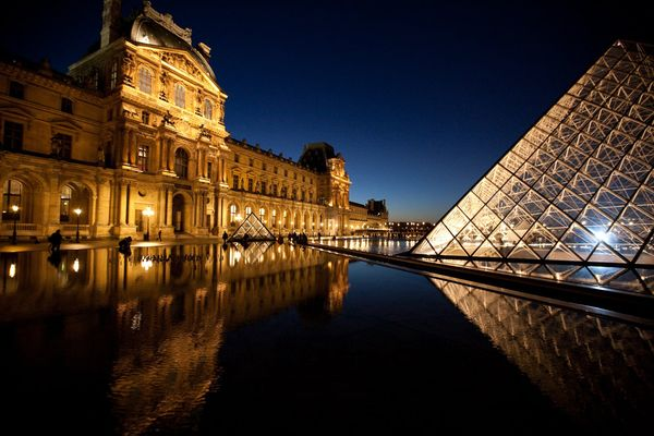 Paris Fashion Week is held just under the Louvre in Paris, in the Carrousel du Louvre.