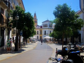 My path to university through the Judería, the historic centre
