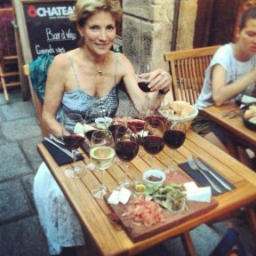 Wine tasting at O Château