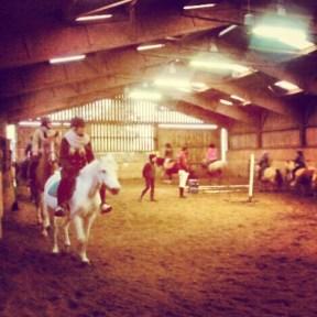 Horse-riding near Calais