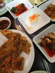 Korean BBQ in Maadi with pajeon, banchan!