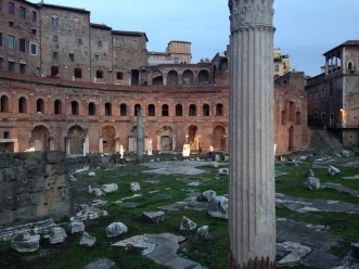 Romans orated here.